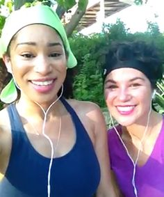 NaturallyCurly Reviews the new Save Your Do Gymwraps by actress and naturalista Nicole Ari Parker!