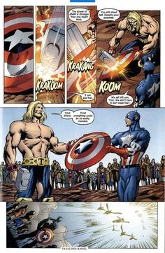 The Mighty Thor vs. Marvel Comic Universe, Marvel Dc Comics, Marvel Heroes, Marvel Cinematic Universe, Marvel Avengers, Comic Book Pages, Comic Book Characters, Marvel Characters, Comic Books Art