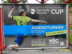 914. - Plakat in Stockach. / 31.07.2016./