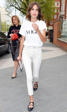 9 Things Alexa Chung Taught Us About Denim via @WhoWhatWear