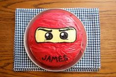 lego ninja cake - Google Search                                                                                                                                                     More