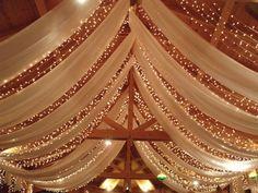 esküvői fényfüzér