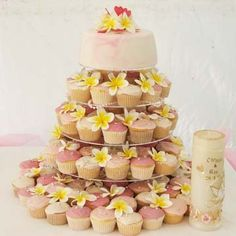 Definitely having a cupcake tower at our wedding instead of traditional wedding cake. I love them!