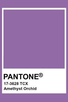 Pantone Swatches, Color Swatches, Pantone Colour Palettes, Pantone Color, Carta Pantone, Pantone 2015, Light Purple Flowers, Orchid Color, Aesthetic Images