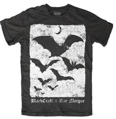 mens xs=womens small bat shirt blackcraf on Mercari Dark Fashion, Gothic Fashion, Emo Fashion, Fashion Boots, Lolita Fashion, Fashion Dresses, Steampunk Fashion, Bat Shirt, Male Witch