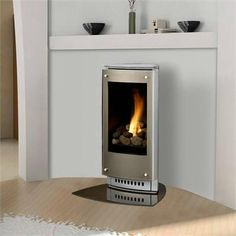 freeSTANDING fireplace | Contemporary Freestanding Fireplace from Heat & Glo