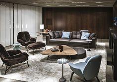 MODERN INTERIORS |  luxury furniture for modern living areas | www.bocadolobo.com/ #luxuryfurniture #designfurniture