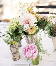 Top 17 Rustic Peony Centerpieces – Cheap & Unique Design For Wedding Party Day - DIY Craft (6)
