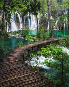 Sound of & Plitvice National Park, Croatia. Photos by , , The post Sound of Plitvice National Park& appeared first on . Beautiful Places To Travel, Cool Places To Visit, Places To Go, Wonderful Places, Peaceful Places, Beautiful Waterfalls, Beautiful Landscapes, Vacation Places, Dream Vacations