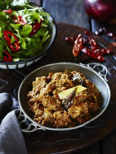 Beef rendang from Dr Libby Weaver's Real Food Kitchen cookbook. Photography and styling by Tanya Zouev.