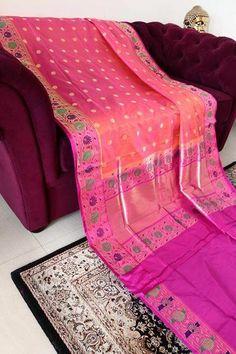 A pretty casual saree