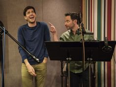 Nick Kroll, John Mulaney on Netflix's 'Big Mouth,' puberty and fainting in sex-ed class Comedy Duos, John Mulaney, Funny People, Real People, Street Smart, Asian American, Saturday Night Live, Snl, Looks Cool