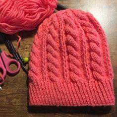 Twisted Knitting Pattern Free Hat Pattern