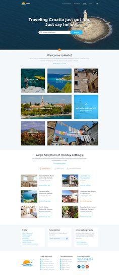 Travel Website Wip by Balkan Brothers