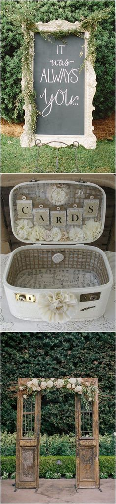 Vintage Weddings » 21 Shabby Chic Vintage Wedding Ideas You Cannot Resist! » ❤️ See more: http://www.weddinginclude.com/2017/06/shabby-chic-vintage-wedding-ideas-you-cannot-resist/