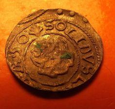 XF+ Coins Sweden LIVONIA 1650 Queen Christina Schilling Medieval coin SUPER - http://coins.goshoppins.com/medieval-coins/xf-coins-sweden-livonia-1650-queen-christina-schilling-medieval-coin-super/