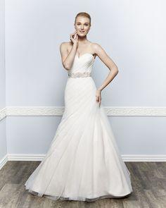 Kenneth Winston Style 1646 #weddingdress #bridal