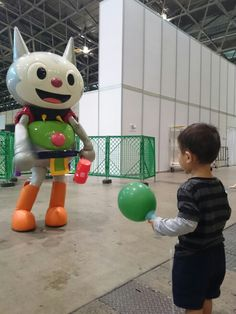 My younger son at #TGS2015