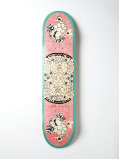 FREEPEOPLE SKATEBOARDS?!?! (Titan Boards Limited Edition Free People Printed Skateboard)
