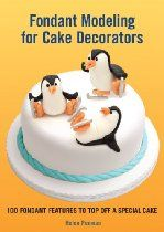 Buy Fondant Modeling for Cake Decorators by Helen Penman at Mighty Ape NZ. Ever more popular, fondant cakes have been featured everywhere, from Martha Stewart Living to TLC's Cake Boss and the Food Network's Ace of Cakes. Cake Decorating Books, Cake Decorating Techniques, Decorating Ideas, Fondant Cakes, Cupcake Cakes, Fondant Recipes, Fondant Figures, Cupcake Toppers, Cupcakes