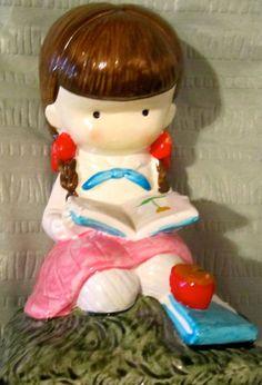 Vintage Joan Walsh Anglund figure ceramic figurine. $10.00, via Etsy....got it!