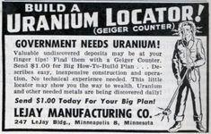 BUILD A URANIUM LOCATOR! (Jun, 1950)