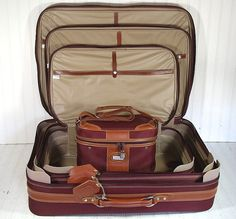 Vintage Jaguar 4 Piece Matching Luggage Set  Retro by DivineOrders, $166.00