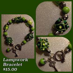 Lampwork Bracelet Glass Beads