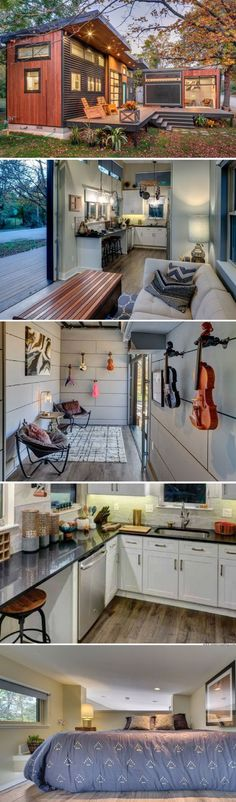 Awesome 105 Impressive Tiny Houses That Maximize Function and Style https://decoratio.co/2017/03/105-impressive-tiny-houses-maximize-function-style/