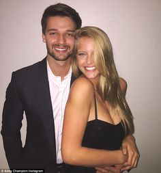Moving on: Patrick Schwarzenegger is dating 19-year-old Abby Champion - a model from Alaba...