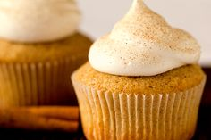Snickerdoodle Cupcakes - Brown Eyed Baker