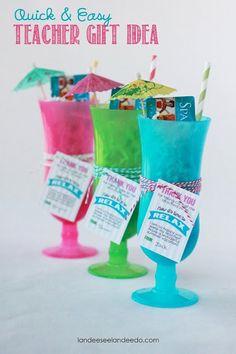 Teacher Gift Idea: Time to Relax - landeelu.com