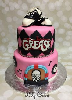 grease logo how to make fondant - Google Search