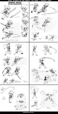 Dreaming Tomorrow Roxanne Richter from the Scott Pilgrim game For. Character Model Sheet, Character Poses, Animation Reference, Pose Reference, Scott Pilgrim Comic, Bryan Lee O Malley, Vs The World, Drawing Expressions, Character Design Animation