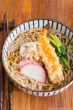 Soba Noodle Soup 温かいお蕎麦