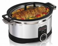 6 Quart Programmable Stovetop Slow Cooker with Timer | Slow Cooker | Hamilton Beach
