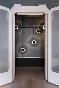 basil green pencil: Dimore Gallery, Milan