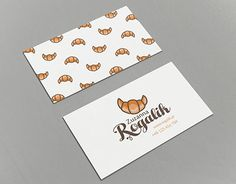 """Check out new work on my @Behance portfolio: """"Identity design for pastry shop - Rogalik"""" http://be.net/gallery/40337451/Identity-design-for-pastry-shop-Rogalik"""