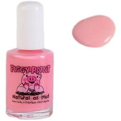 Angel Kisses Nail Polish by Piggy Paint. $8.38. 12 Features: -Nail polish.-Non-toxic, hypoallergenic, odorless formula makes it safe to use on all piggies.-Natural, eco-friendly nail polish designed for fancy girls.-Free of formaldehyde, toluene, phthalates, Bisphenol A, ethyl acetate and acetone.-Capacity: 0.5 fl. oz.. Color/Finish: -Color: Light Pink.-Dries to a hard, durable finish.. Save 16%!