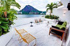 Vacation in Rio de Janeiro Near Corcovado The Sunday Times, Outdoor Furniture, Outdoor Decor, Sun Lounger, Patio, Vacation, Terraces, Villas, Apartments
