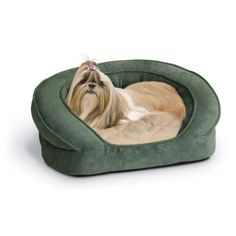 Deluxe Ortho Sleeper Bolster Dog Bed Size Medium 30 L Color Eggplant ** Details can be found by clicking on the image.
