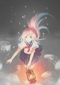 Anime art is very pretty