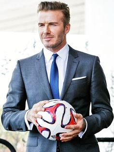Star Tracks: Friday, February 7, 2014 | BALL BOY | David Beckham is taking his talents to South Beach! The soccer stud poses at a press conference in Miami on Wednesday, where he proposed plans for a new Major League Soccer team.