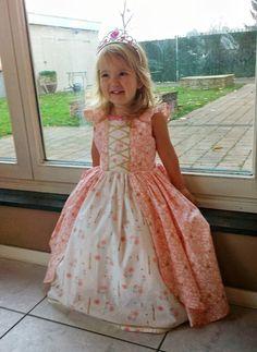 Prinsessenkleedje om zelf te maken