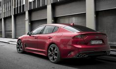 Stinger – zbrusu nový sportovní fastback od KIA