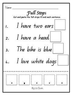 Writing Targets on Hands - write, visual aid, prompt, display ...