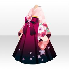 Anime Kimono, Anime Dress, Drawing Anime Clothes, Dress Drawing, Character Outfits, Cute Anime Character, Anime Outfits, Cute Outfits, Anime Suit