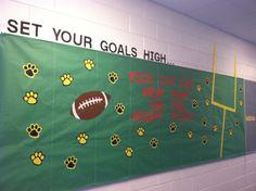 Back to School hallway board. Got idea from Pinterest!