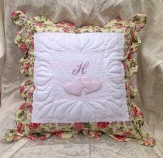 Quiltessa: Patchwork palette: Подушка сердечная