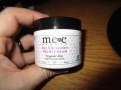 Bee Nourished Night Cream – By Mee Beauty – Product Review